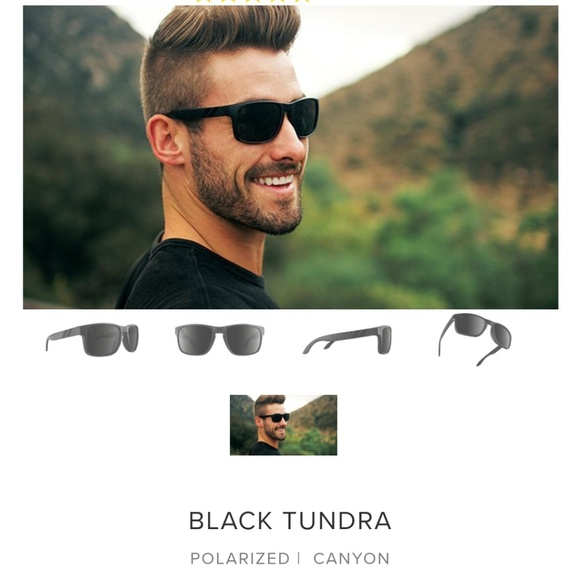 b12692c6694c3 Blender Eyewear Black Tundra sunglasses